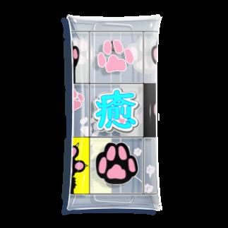 komii_komiiのいやしニャンコ Clear Multipurpose Case