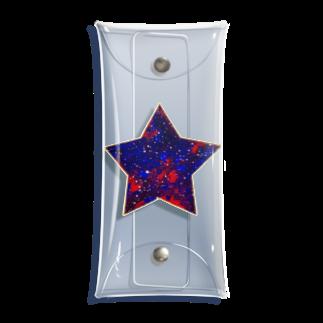采-aya-の赤い星 Clear Multipurpose Case
