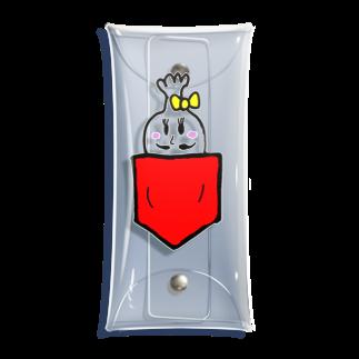 manjiroのやよいひめたろうinポケット Clear Multipurpose Case