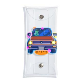 drive ドライブ 124 Clear Multipurpose Case
