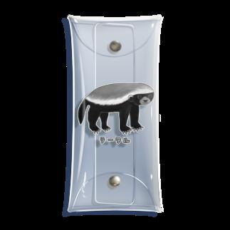 すとろべりーガムFactoryの最強動物 ラーテル no.2 Clear Multipurpose Case