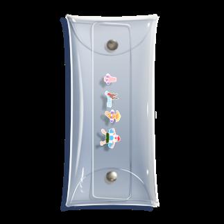 karaage31033のうみのひ Clear Multipurpose Case