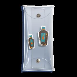 nascos.のなんかのビン Clear Multipurpose Case