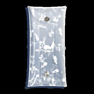 やまこの花と犬White Clear Multipurpose Case