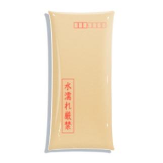 茶封筒(水濡れ厳禁) Clear Multipurpose Case