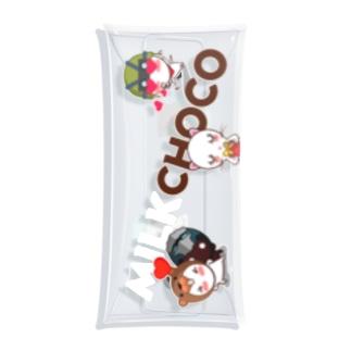 ミルクチョコ ラブリー Clear Multipurpose Case