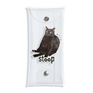 うちの猫。 Clear Multipurpose Case