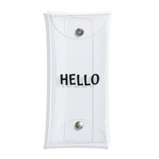 HELLO Clear Multipurpose Case