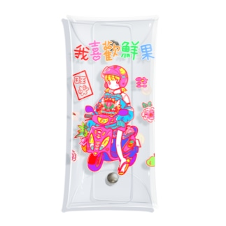 台湾バイク Clear Multipurpose Case