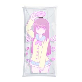 お菓子な天使 Clear Multipurpose Case