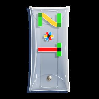 marikiroのZT initial Clear Multipurpose Case
