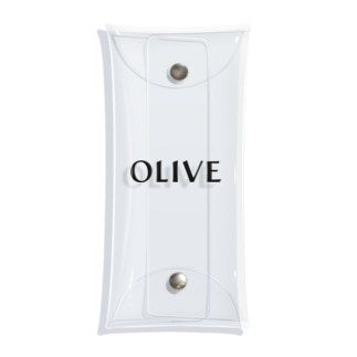OLIVEのOLIVEクリアケース Clear Multipurpose Case