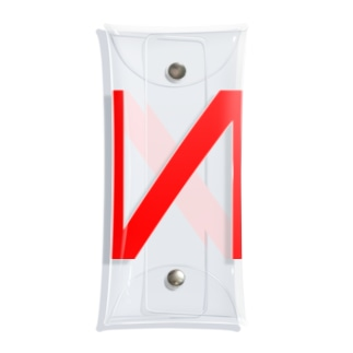 N LOGO 2003 RED Clear Multipurpose Case