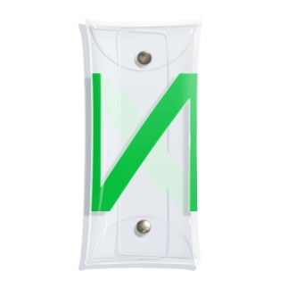N LOGO 2003 GREEN Clear Multipurpose Case