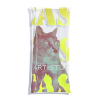 CAT ART STUDIOUS Clear Multipurpose Case
