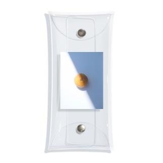グレープフルーツコントラスト Clear Multipurpose Case