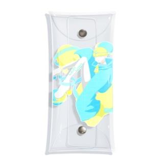 kinoko_9のウチュウジン Clear Multipurpose Case
