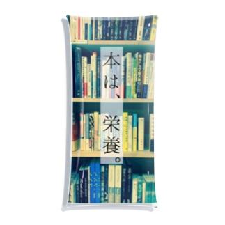 本は、栄養。kachimo Clear Multipurpose Case