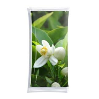 日本の花:ミカンの花 Japanese flowers: Mikan (Orange) Clear Multipurpose Case
