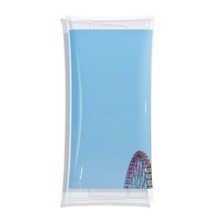 観覧車と空 Clear Multipurpose Case