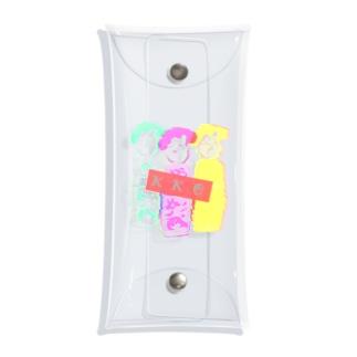 KKC(こけし)アイドル Clear Multipurpose Case