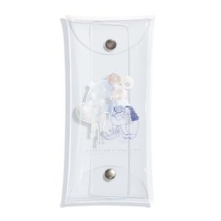 ココシバ×MegumiOno Clear Multipurpose Case