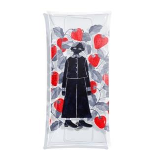 strawberry Clear Multipurpose Case