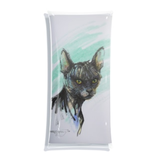 スフィンクス猫2020 Clear Multipurpose Case