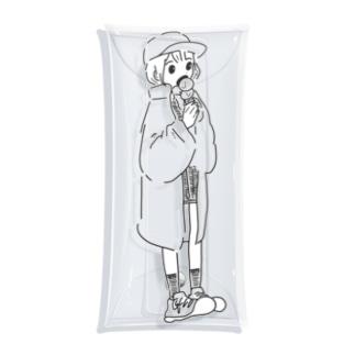 aisu girl Clear Multipurpose Case