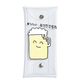 ほほえみアルコール Clear Multipurpose Case