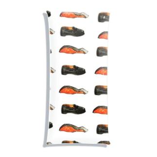 鮭とローファー Clear Multipurpose Case