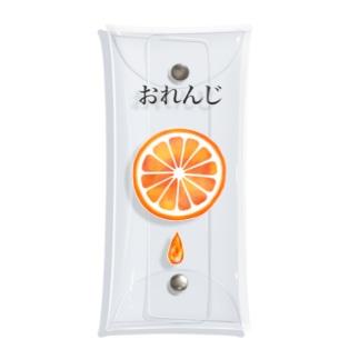 おれんじ Clear Multipurpose Case