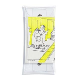 通勤ペンギン Clear Multipurpose Case