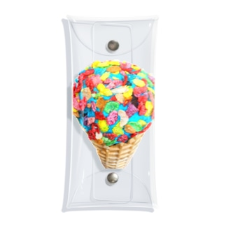 Monana44の【I SCREAM】 Clear Multipurpose Case