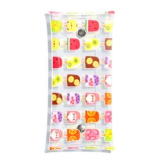 ひんやりアイスキャンディーとことり Clear Multipurpose Case