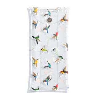 ハチドリのグッズ Clear Multipurpose Case