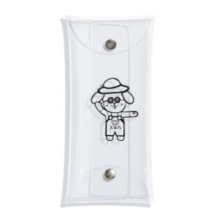 ごきげんかんちゃん Clear Multipurpose Case