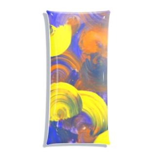ザキヤマ カナコのハロウィン Clear Multipurpose Case