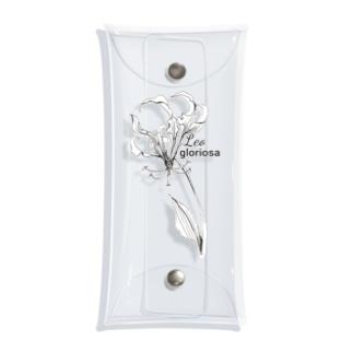 しし座の誕生花 Clear Multipurpose Case