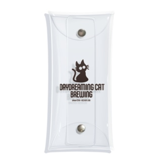 DaydreamingCatBrewing_logo Clear Multipurpose Case