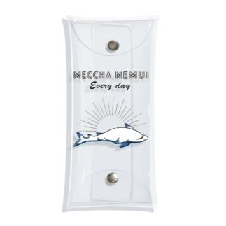 MECCHA NEMUI さめ Clear Multipurpose Case