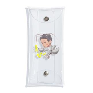 脱皮:ヨコシマな海神え〜び〜 Clear Multipurpose Case