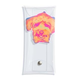 トイプードルスマイル Clear Multipurpose Case