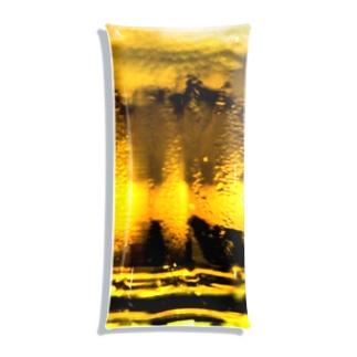 キンッキンに冷えた生ビール Clear Multipurpose Case