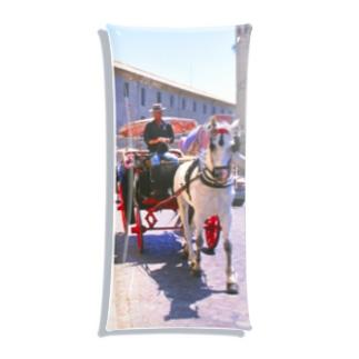 FUCHSGOLDのスペイン:コルドバの観光馬車 Spain: Buggy at Córdoba Clear Multipurpose Case