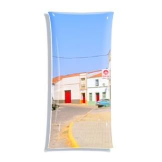 スペイン:村の昼下がり Spain: view of a village Clear Multipurpose Case