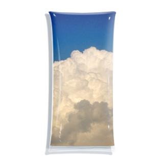 ヒヤコンの記憶の中の夏の雲 Clear Multipurpose Case