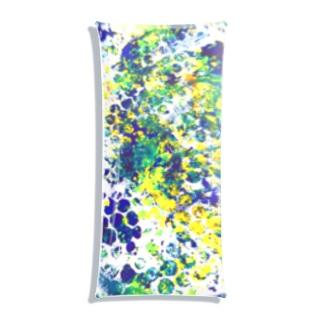 青い花火 Clear Multipurpose Case