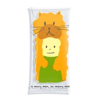 ネコ坊や Clear Multipurpose Case