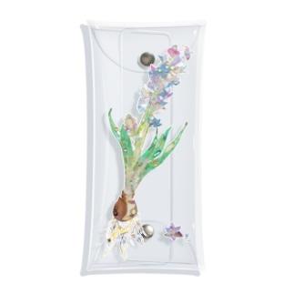 ヒヤシンス Clear Multipurpose Case